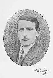 Photo of Chief Bard Hedd Wyn 1917, winner at the National Eisteddfod 1917 who had died during the Battle of Pilckem Ridge during World War I